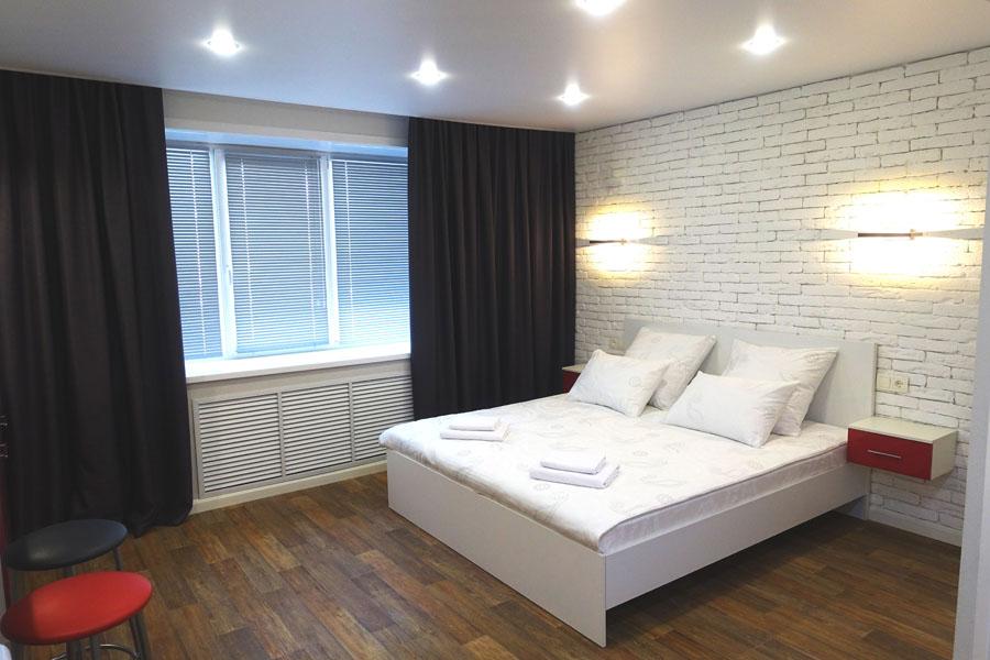 Номер стандарт с большой кроватью - КвартХаус