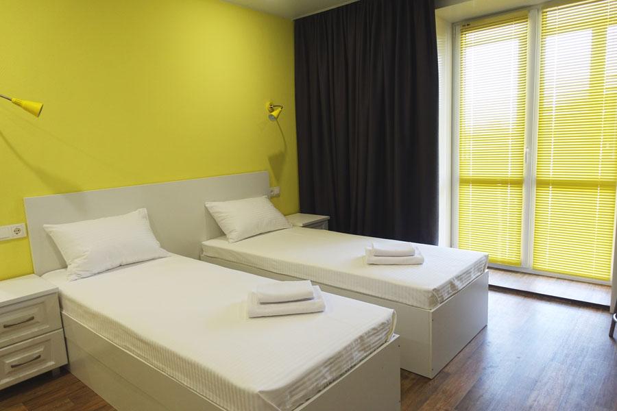 Номер эконом в гостинице - КвартХаус