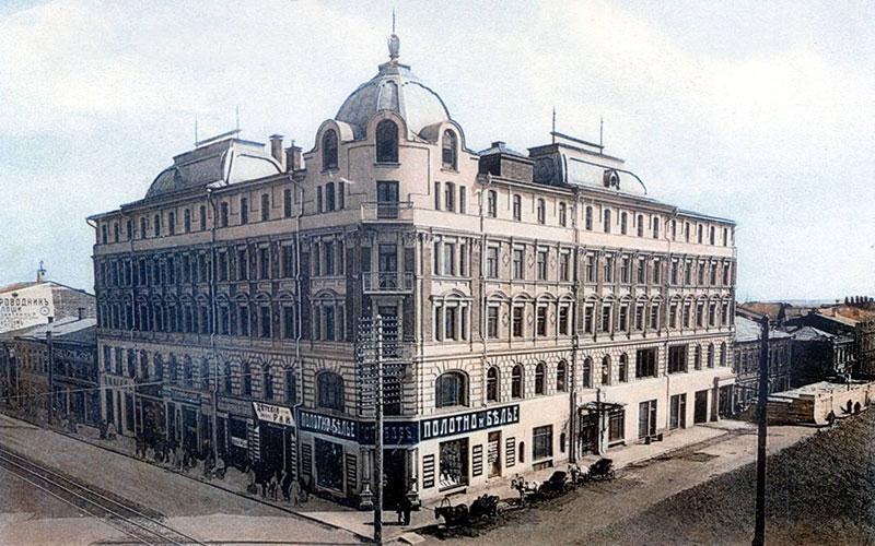 История появления отелей.